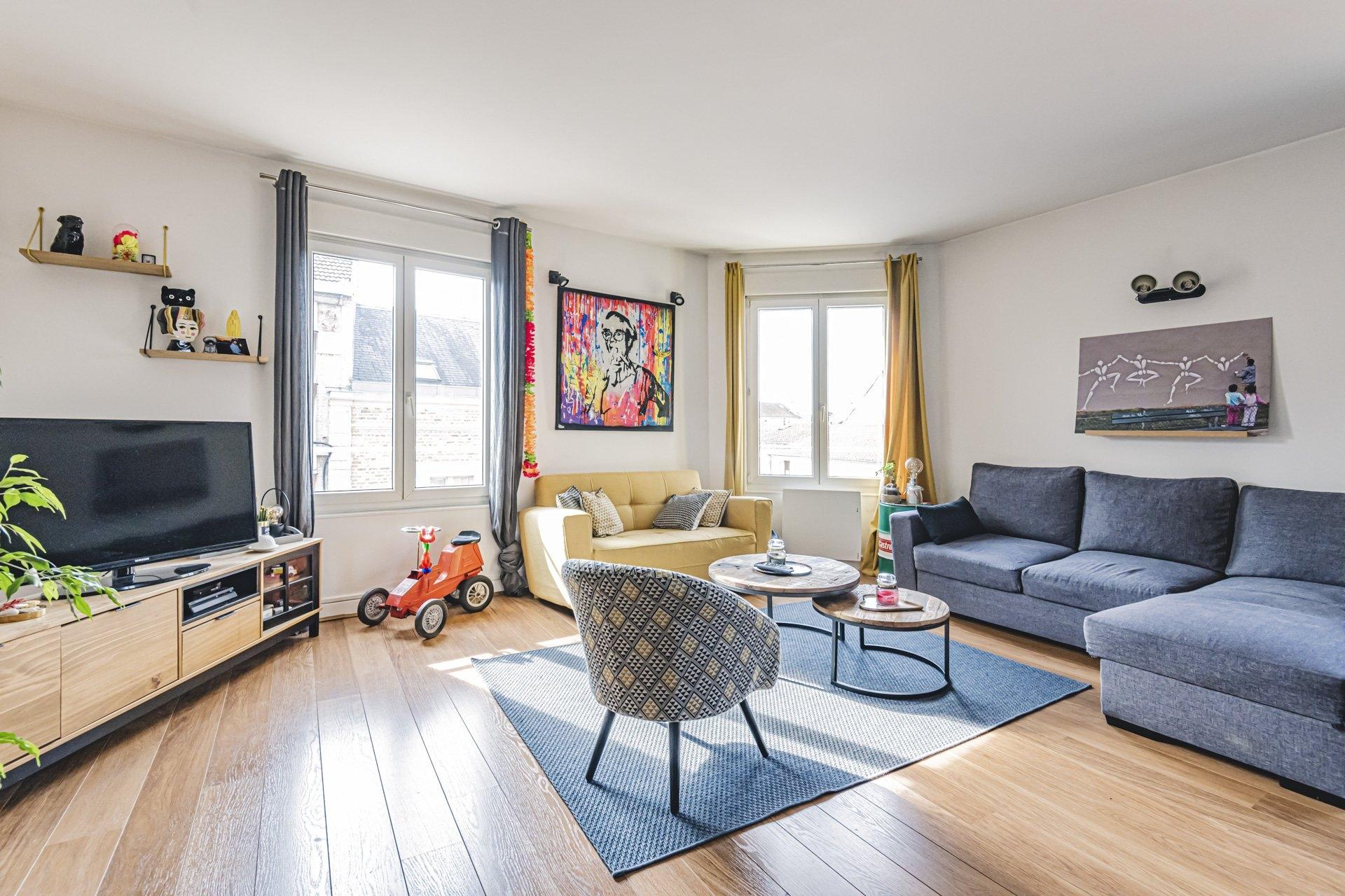 Appartement Reims 4 Pièces 104 m2 - 1