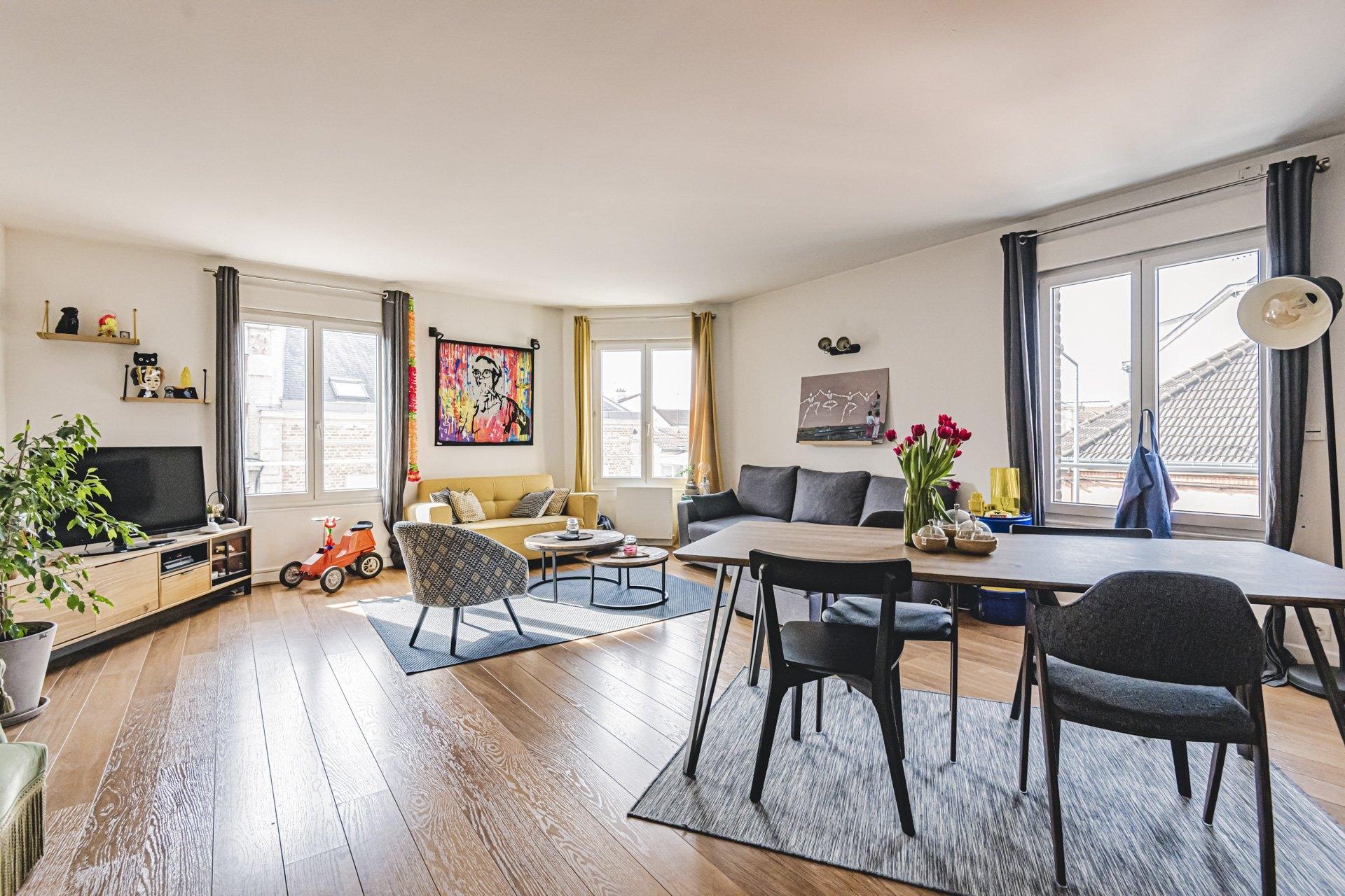 Appartement Reims 4 Pièces 104 m2 - 2