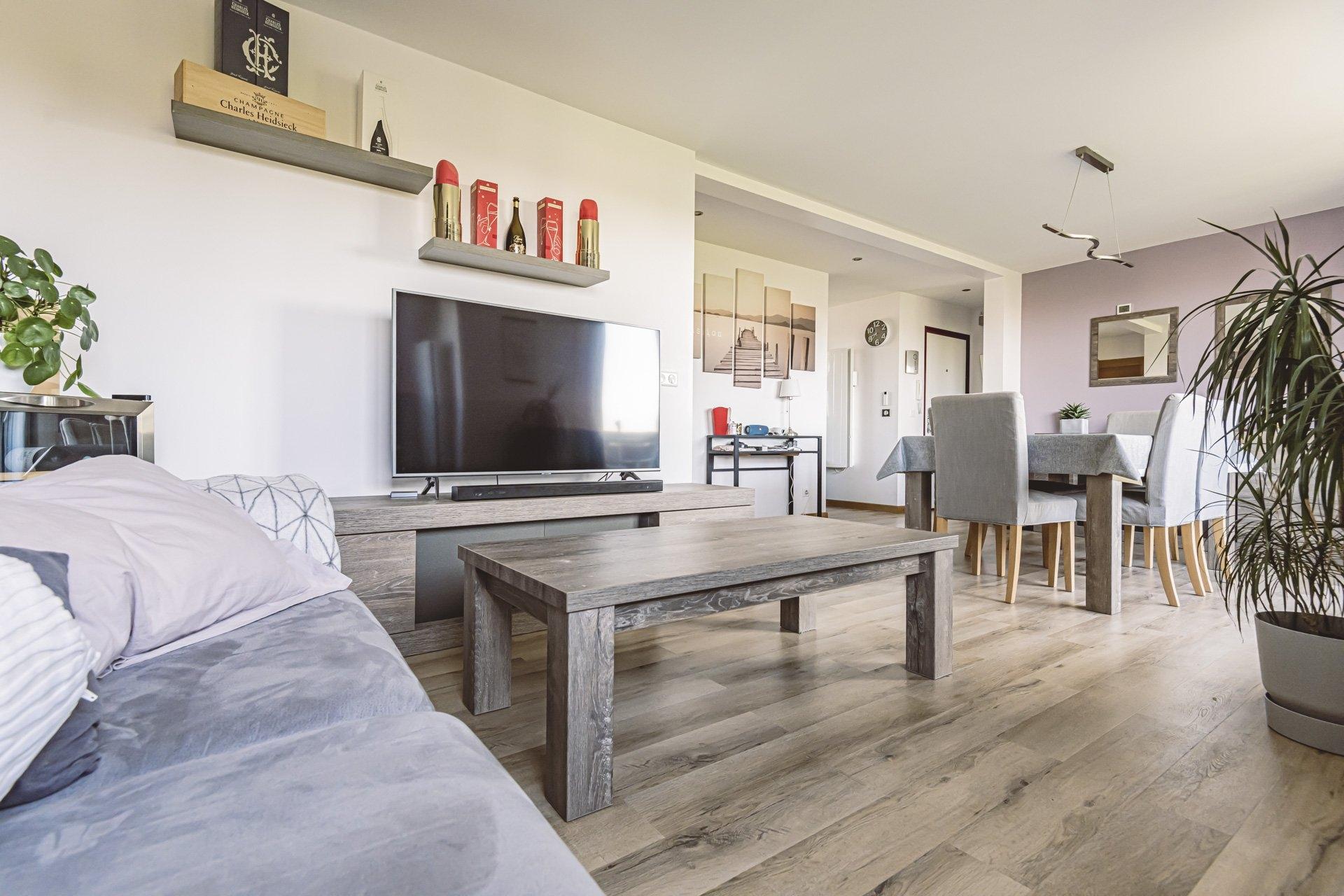 Appartement Tinqueux 4 Pièces 61.88 m2 - Balcon - 2