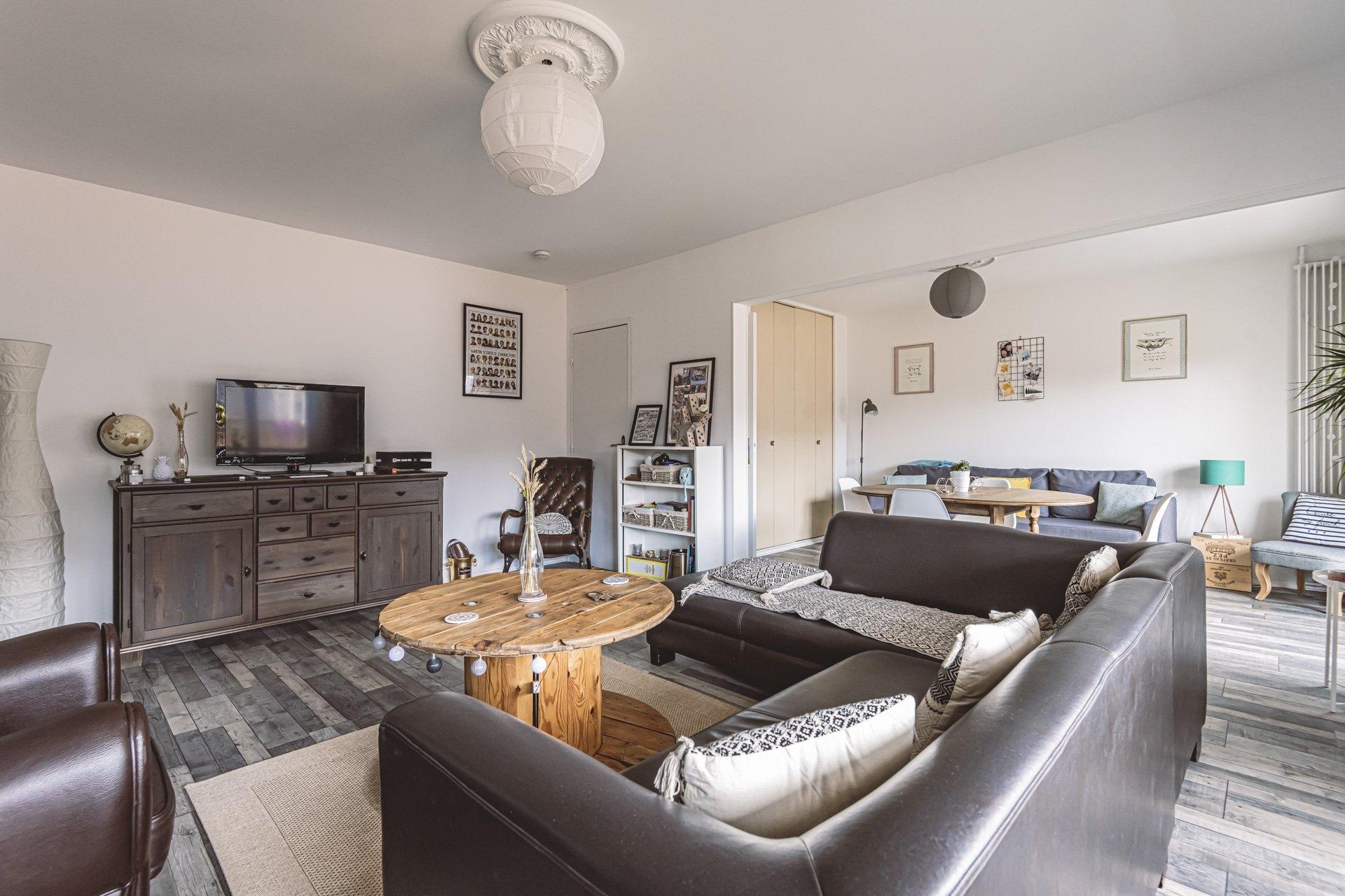 Appartement Reims 3 Pièces 68.3 m2 - Balcon - 1