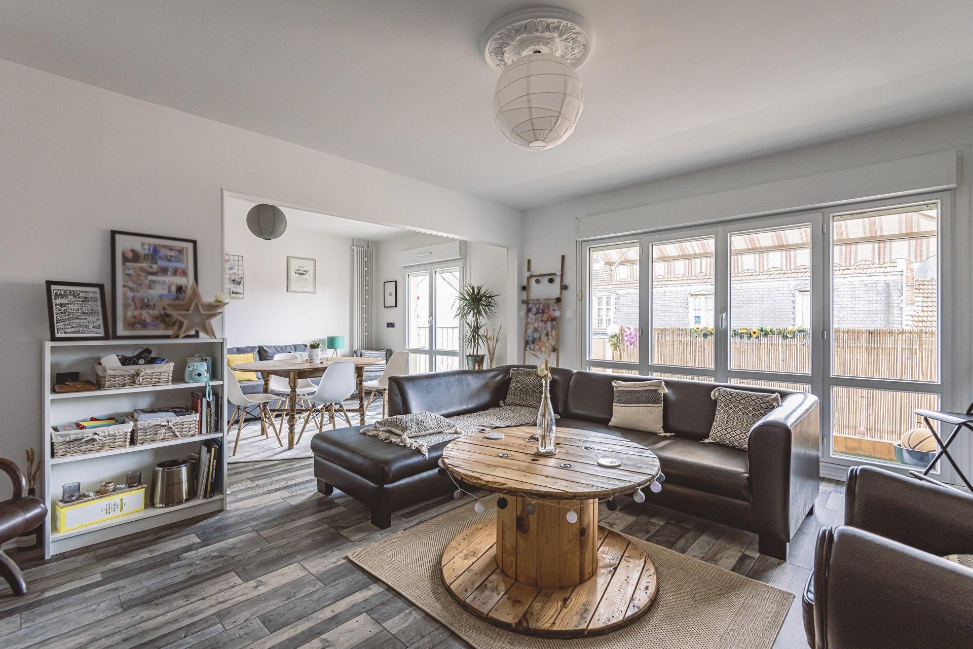 Appartement Reims 3 Pièces 68.3 m2 - Balcon - 3